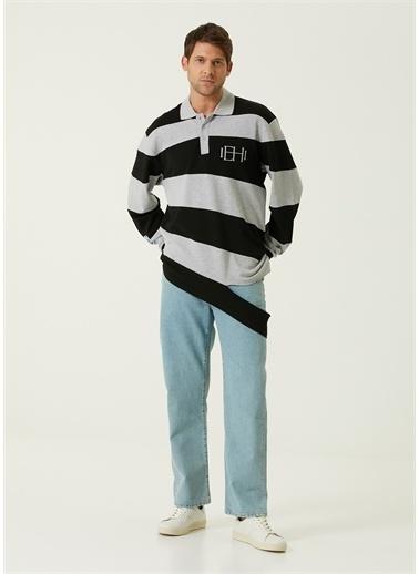MCQ Polo Yaka T-shirt Gri